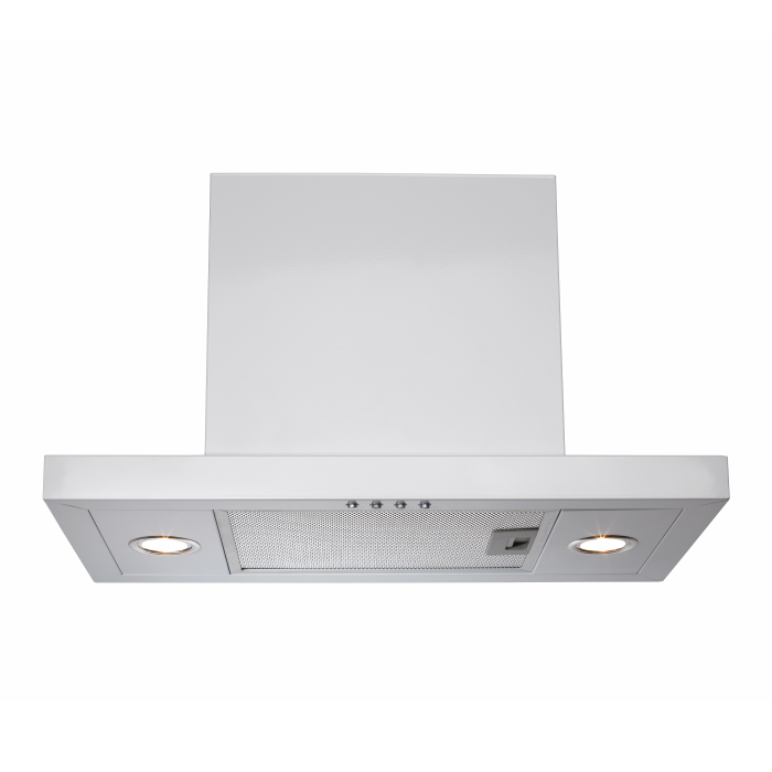 White Integrated Rangehood 600mm