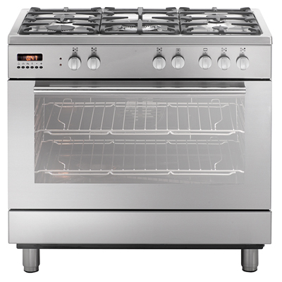 Gas cooktop electric oven professional cooking centre