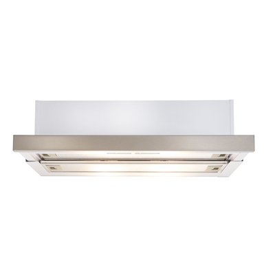 Slideout Rangehood stainless steel finish 600mm