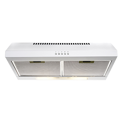 Fixed Rangehood White 600mm