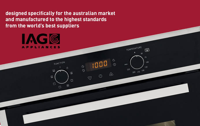 IAG Appliances a product to suit you